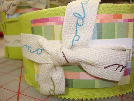 Moda Bella Jelly Roll  to match Lucy's Crab Shack - CLEARANCE 50% off