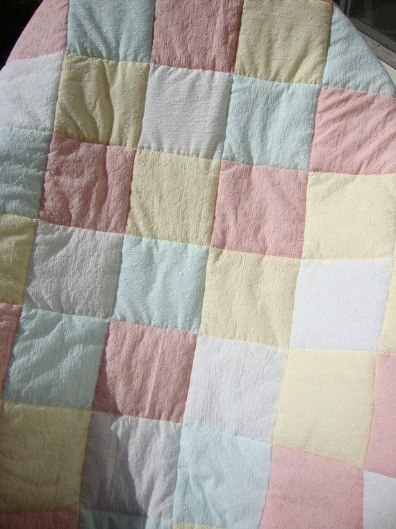 crib quilt - SALE