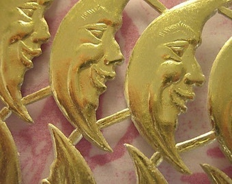 Gold Foil Dresden Die-Cut Moons (46 moons)