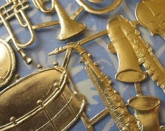 Gold Foil Dresden Instruments (24 instruments)