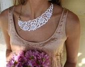 Sincerely Mae Lace Necklace