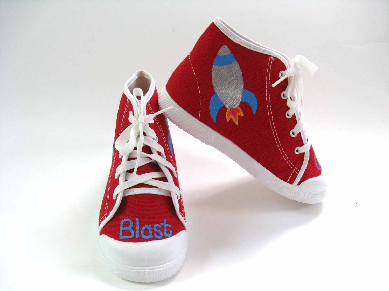 spaceship shoes rocket ship red hi top sneakers space ship