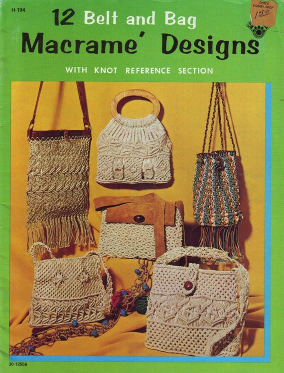 macrame pattern books vintage 70s macrame craft book patterns and to 9729