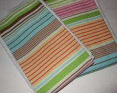 Cotton stripes burp cloths cloth diaper