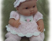 Crochet Pattern to Make This Sweet Little Romper for 14 to 15 inch Berenguer
