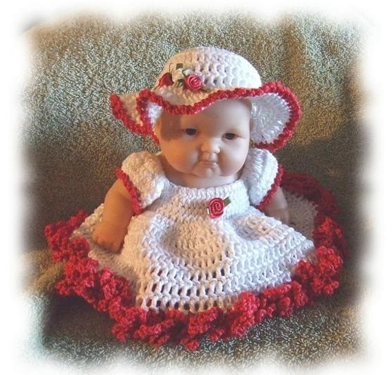 Crochet pattern for 8 inch berenguer bed doll by alcarrico32