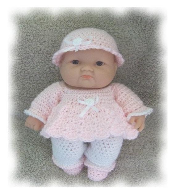Crochet Pattern for a Playtime Romper for 8 Inch Berenguer