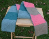Reversible Patchwork Scarf