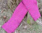 Brilliant Magenta Wool Scarf