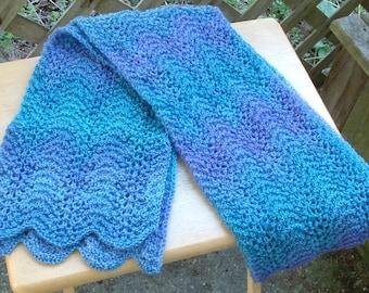 Jojoland Melody Blue/Lavender Scarf