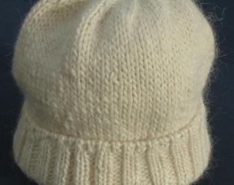 Warm Winter White Watch Cap