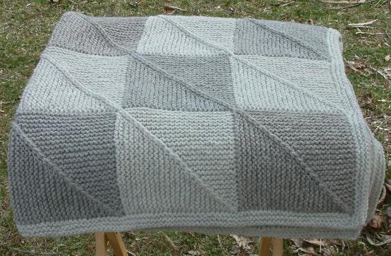 Natural Tones Baby Blanket