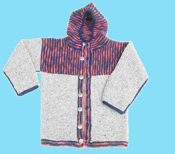 Child's Criss-Cross Wool Jacket
