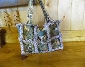 Rag Quilt Bag-Purse-Horses