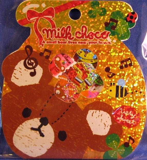 Q-Lia Milk Choco Sticker Sack