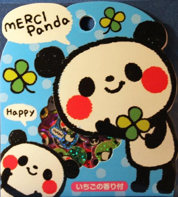 Kawaii Merci Panda Sticker Sack
