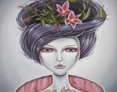 Ikebana - limited edition giclee print