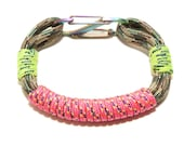 Neon Camping Cord Bracelet- Small