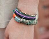 Camo Camping Cord Bracelet- Medium