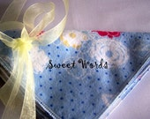Sweet Soft Single Layer Wipes - Floral SET OF 6