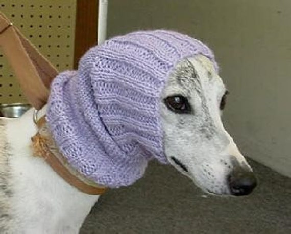 Custom Knitted Dog Snood