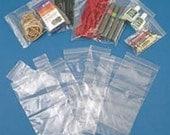 100 Zip Lock Bags, Ziplock Bags, 2mil, 2 x 2mm