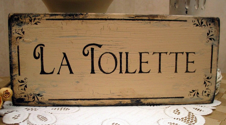 la toilette french shabby vintage inspired rustic powder room. Black Bedroom Furniture Sets. Home Design Ideas