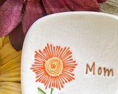 Flower Trinket & Jewelry Dish for Mothers Day