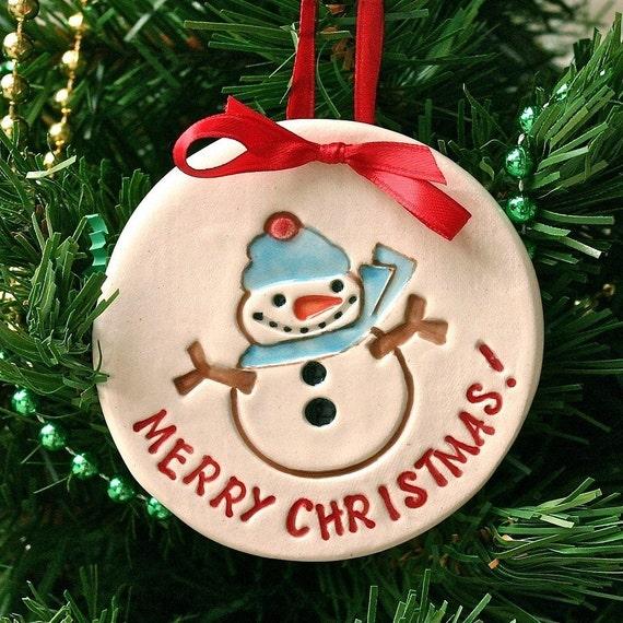 Clearance christmas ornament snowman