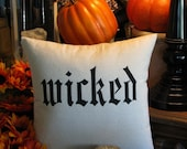 Wicked Pillow