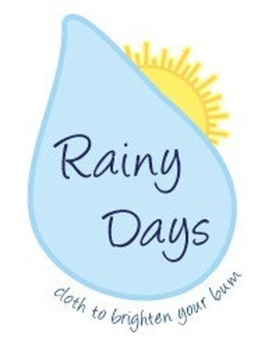 Rainy Days Diaper Pattern