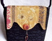 PDF Sewing Pattern - Purse with 4 interchangeable flap designs