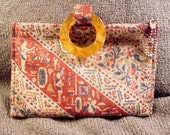 Vintage Cloth Purse with Egyptian Theme