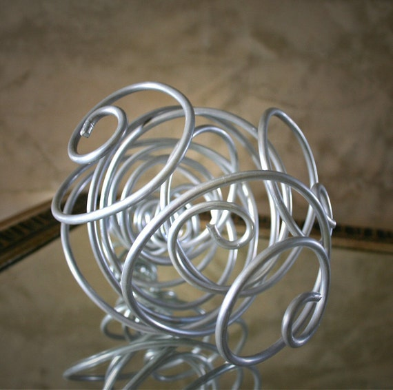 Metal Bouquet: for the Bride who wants to make a statement on her wedding day.