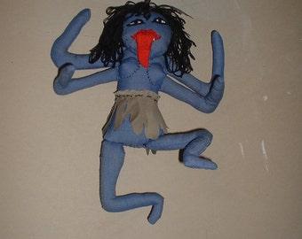 Kali Dark Mother Altar Goddess