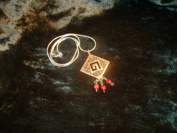 Welsh Witch Crystal Healing Amulet of Powerful Divine Assistance and Love.