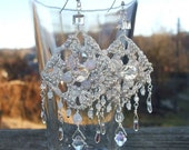 Swarovski bridal earrings
