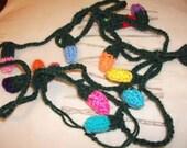 Knitted tree lights knitting pattern
