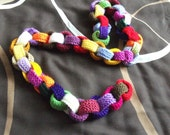 Knitted paperchain knitting pattern