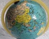 Vintage RUMANIAN GLOBE 1989