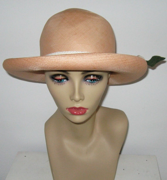 YSL Hat / Straw Hat / Yves Saint Laurent Straw Hat