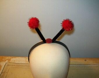 Ladybug Antenna Headband