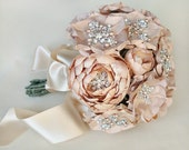 Luly All Blush Silk Flower Bouquet - Made to Order - 6 Weeks to Ship