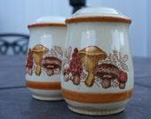 Retro Mushroom Salt and Pepper Shaker Set