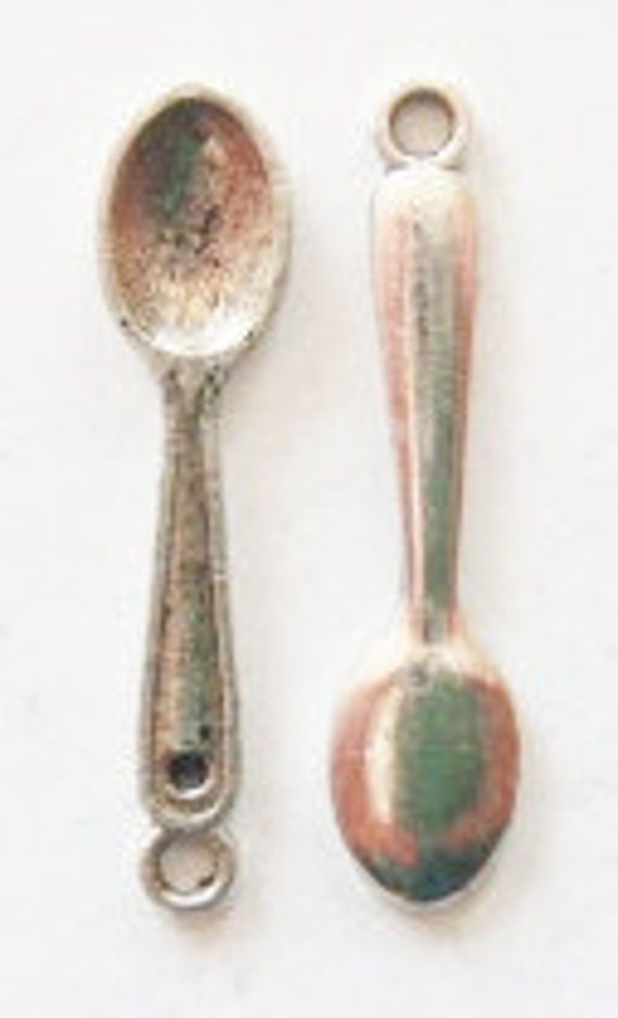15 Spoon Charms 26x6mm