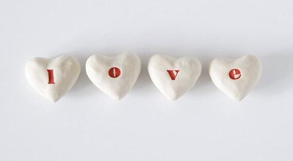L-O-V-E  hearts