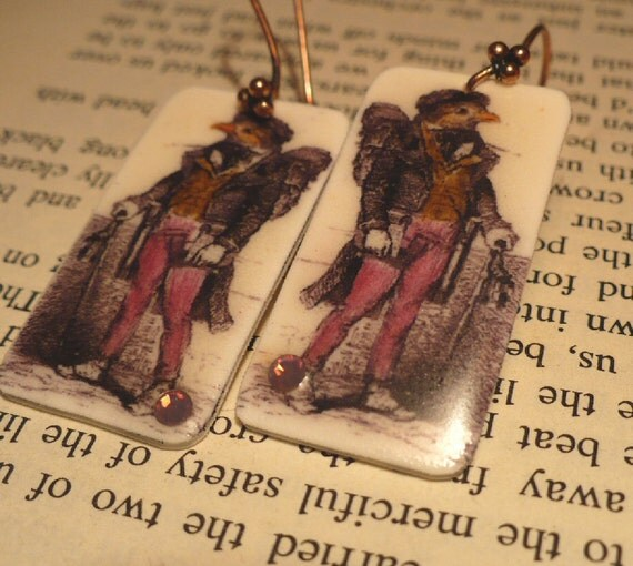 Dapper Sparrow Earrings
