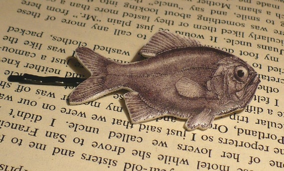 Unidentified Fish Hair Pin
