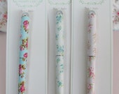 Shabby Chic Ball Point PEN - Choose ONE