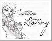 Custom Tattoo Design for Megan